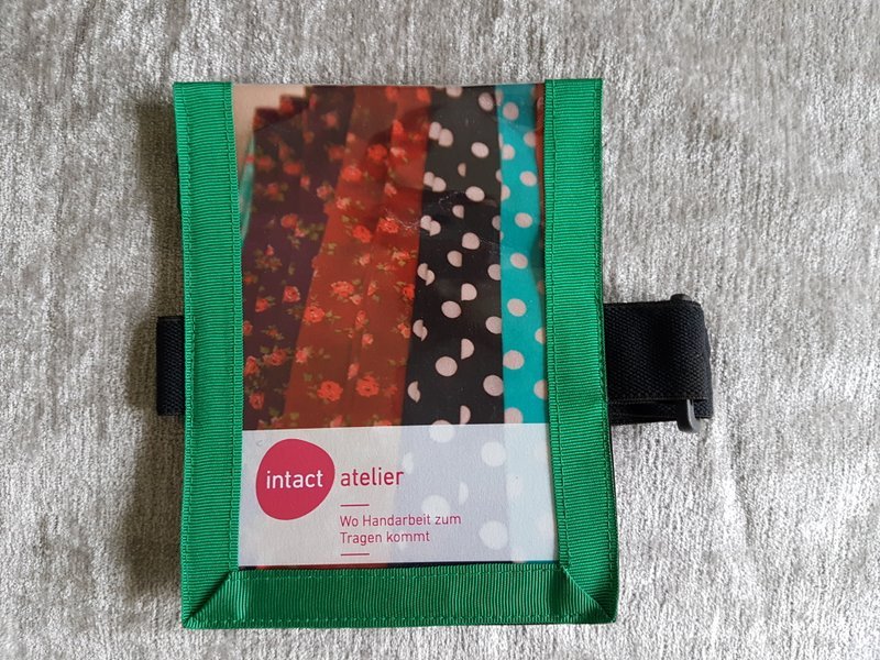 Medicalcard-Hülle grün